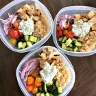 Meal prep Monday: Greek Chicken Bowls