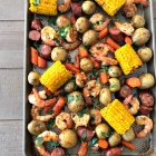 Easy Sheet Pan Shrimp Boil