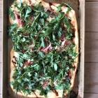 Prosciutto Arugula Burrata Pizza
