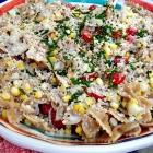 Summer corn pasta.