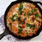 Dinner in a snap: chicken enchilada skillet