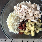Homemade chicken salad & hospitality.