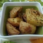 Farm potatoes.