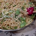 Yellow & Green Pasta