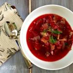 Tim's borscht soup.