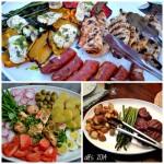 The one platter dinner.