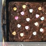 Sweet nothing brownies.
