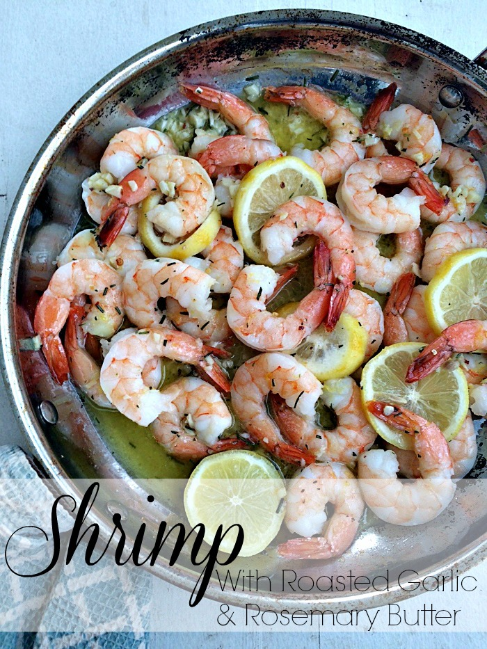roasted shrimp with garlic butter