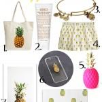 Pineapple everything!