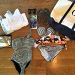 What to pack for a week long trip to the beach.
