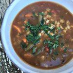 Slow cooker vegetable barley soup