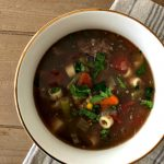 The best beef vegetable soup