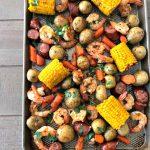 Easy Sheet Pan Shrimp Boil