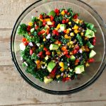Chopped Mexican Kale Salad