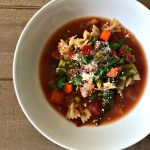 Slow Cooker Spring Minestrone
